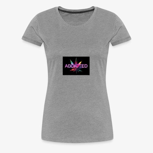 addicted - Women's Premium T-Shirt