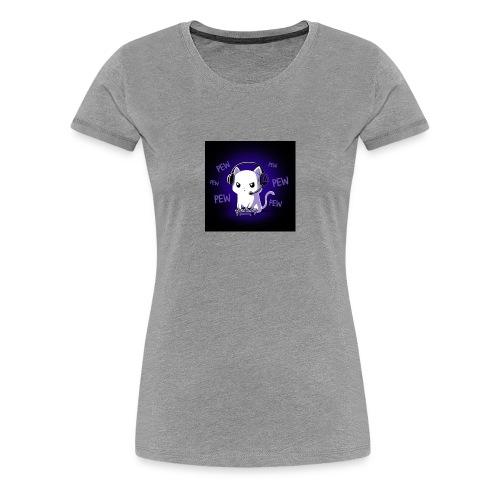 Pew Pew Kitty clean grande - Women's Premium T-Shirt