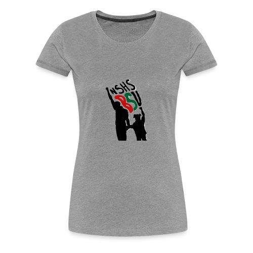 Silhouette Fists - Women's Premium T-Shirt