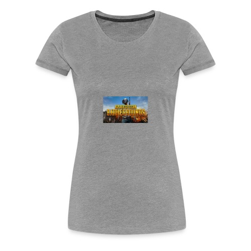 PUBG boy - Women's Premium T-Shirt