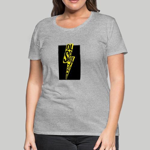 Ol' School Johnny Colour Lightning - Women's Premium T-Shirt