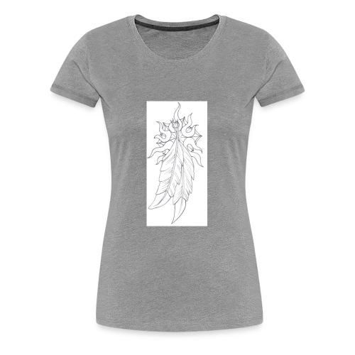 1indianfeather - Women's Premium T-Shirt