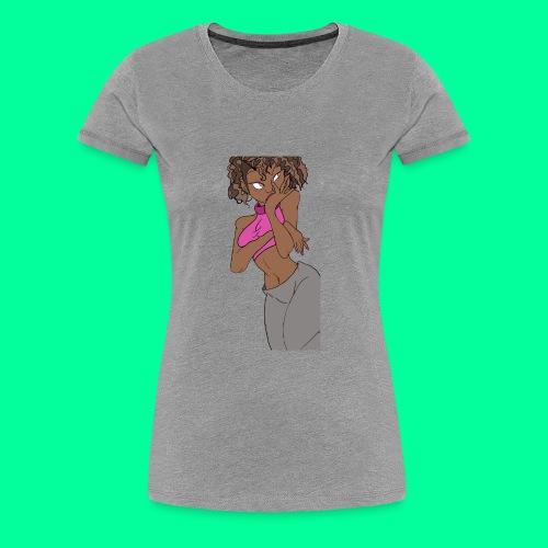 Wakandan Pink - Women's Premium T-Shirt