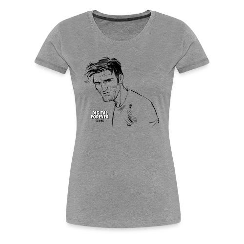 Alex King of Digital Forever - Women's Premium T-Shirt