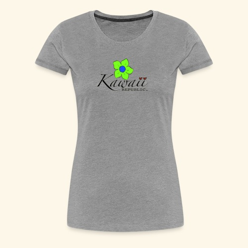 Welcome Spring with Kawaii Republic - Women's Premium T-Shirt