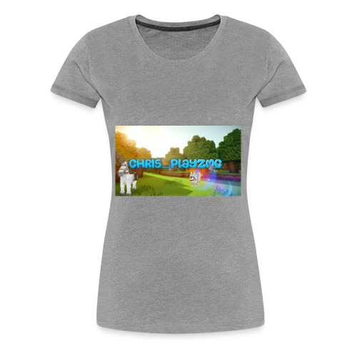 ChrisPlayz - Women's Premium T-Shirt