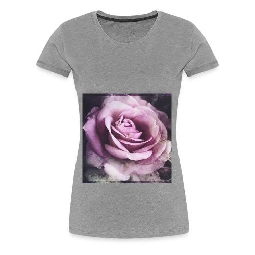 A flower - Women's Premium T-Shirt