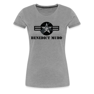 Gray Benedict Mudd - Women's Premium T-Shirt