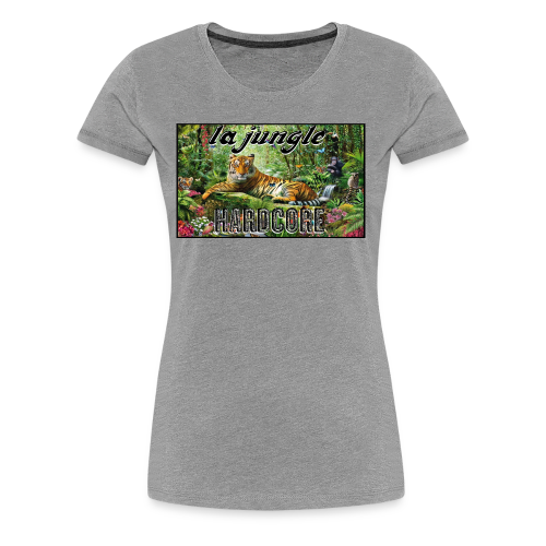 lajunglehardcore - Women's Premium T-Shirt