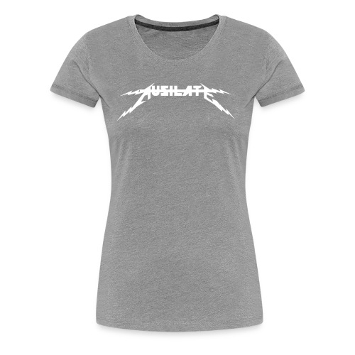Ausilate Lightning Collection *White* - Women's Premium T-Shirt