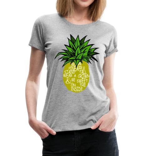 PineappleVer2 - Women's Premium T-Shirt