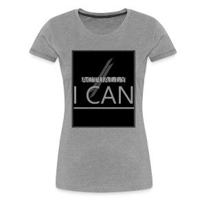 ACTUALLY I CAN - Women's Premium T-Shirt