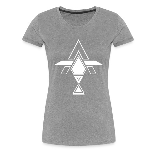 AT WHITE - Women's Premium T-Shirt