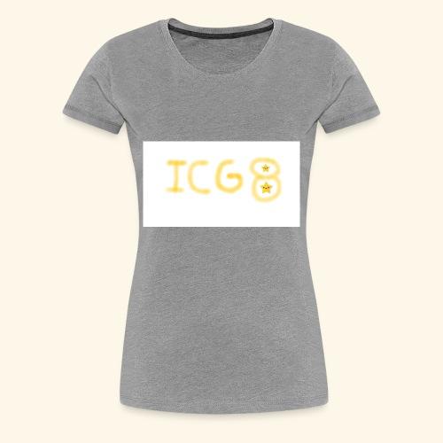 ICG8 with Paint - Women's Premium T-Shirt