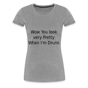 prettywhendrunk - Women's Premium T-Shirt
