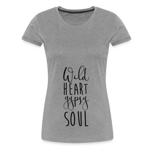 Cosmos 'Wild Heart Gypsy Sould' - Women's Premium T-Shirt