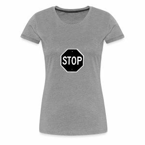 Stop 1 - Women's Premium T-Shirt