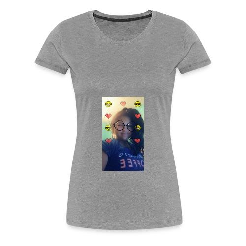 Jaralyssa Face - Women's Premium T-Shirt