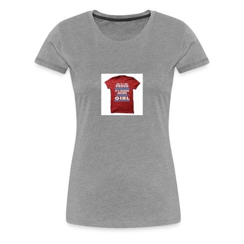 PROUD TO BE ALBANIAN - Women's Premium T-Shirt