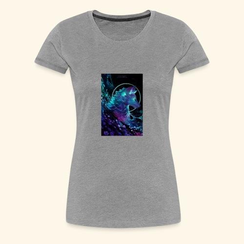 night wolf - Women's Premium T-Shirt