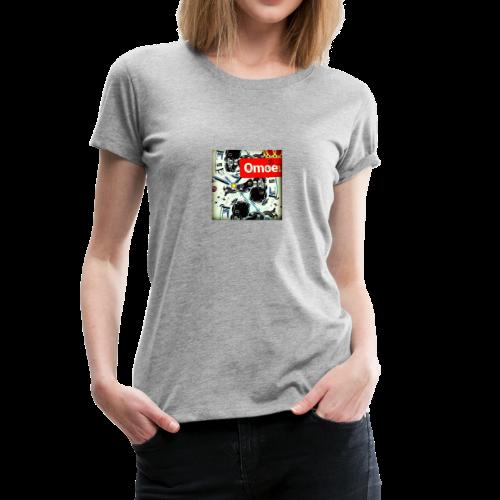 Omoe gets old - Women's Premium T-Shirt
