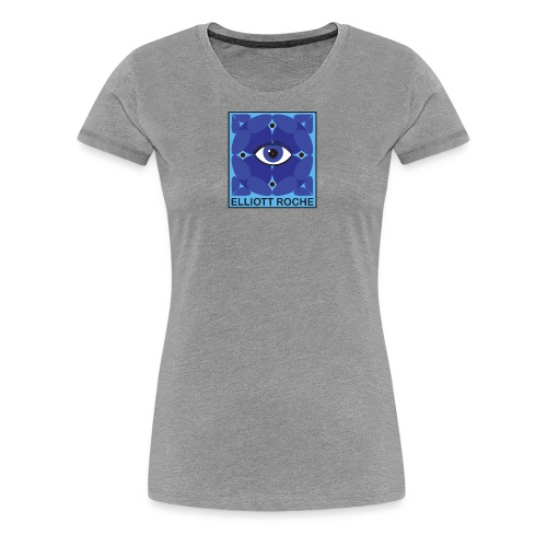 ElliottBlueEye - Women's Premium T-Shirt