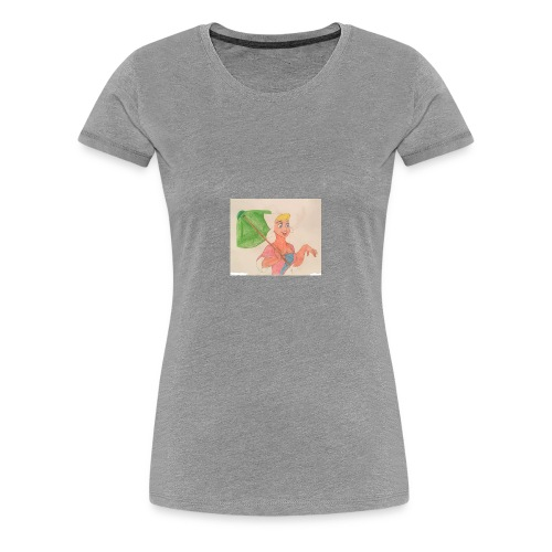 A Princess - Women's Premium T-Shirt