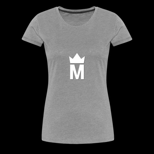 White Majesty Logo - Women's Premium T-Shirt