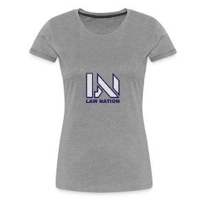 Law Nation - Women's Premium T-Shirt