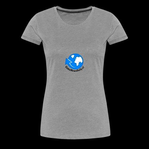 Global News Daily - Women's Premium T-Shirt
