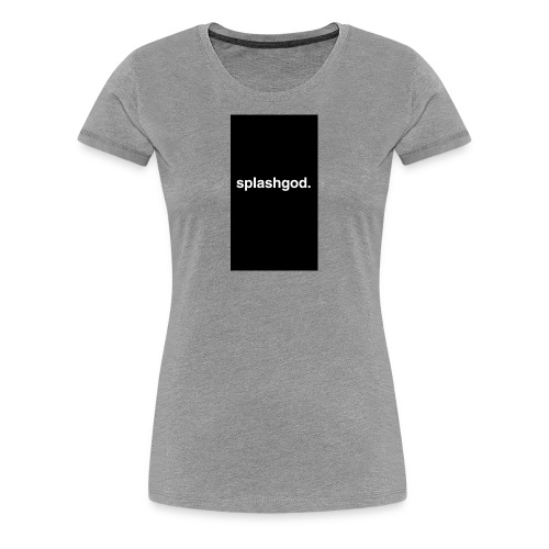 Splashgod. Merch - Women's Premium T-Shirt