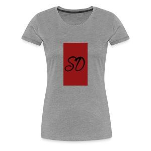 red sd - Women's Premium T-Shirt