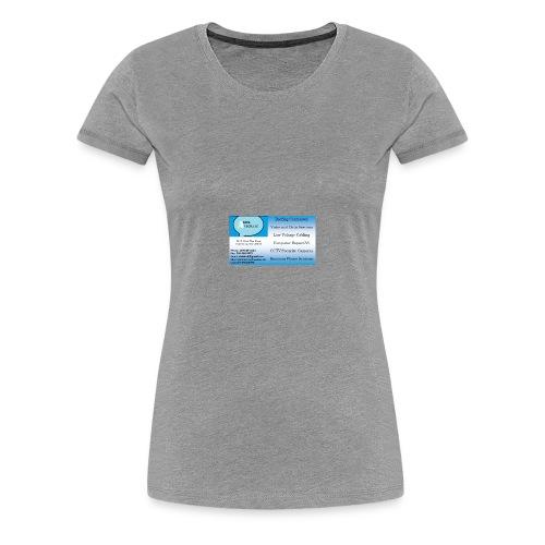 Business sign design 1 - Women's Premium T-Shirt