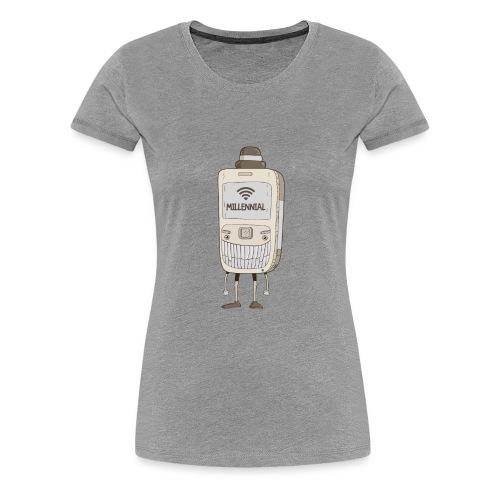 MILLENNIAL - Women's Premium T-Shirt