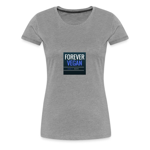 Im Vegan - Women's Premium T-Shirt