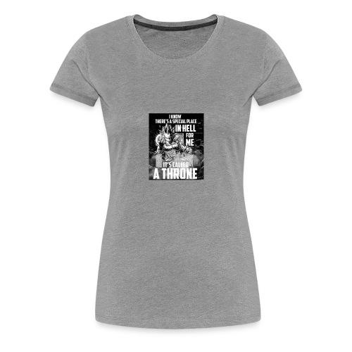 VEGETA KING OF HELL - Women's Premium T-Shirt