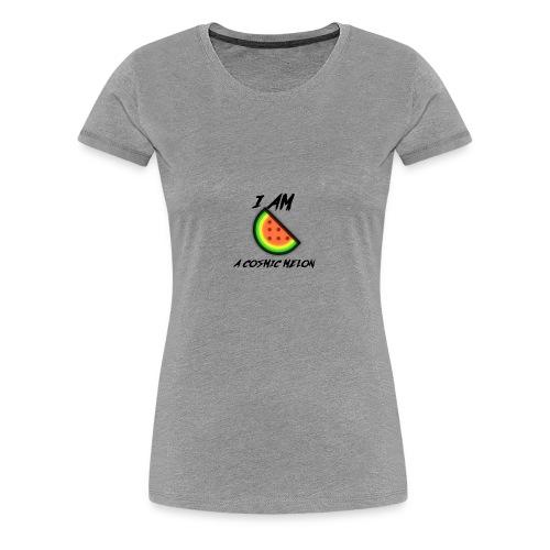 I AM A COSMIC MELON - Women's Premium T-Shirt