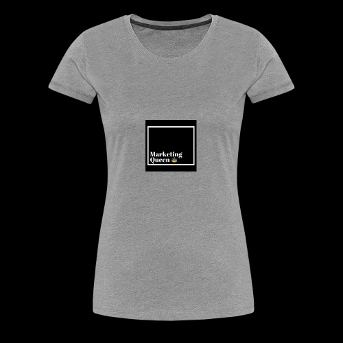 MarketingQueen - Women's Premium T-Shirt