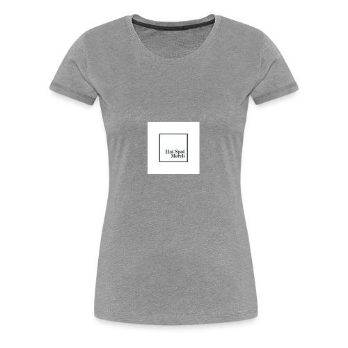 Hotspot Black Logo - Women's Premium T-Shirt