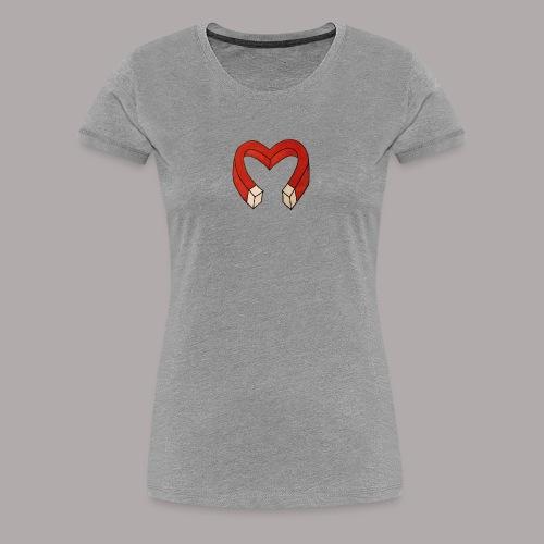Heart-Attract - Women's Premium T-Shirt