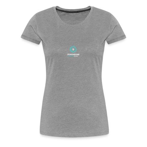 Lit DomDaBomb Logo FOR BLACK OR DARK COLORS ONLY! - Women's Premium T-Shirt