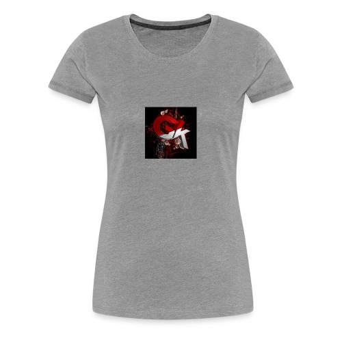 gk - Women's Premium T-Shirt