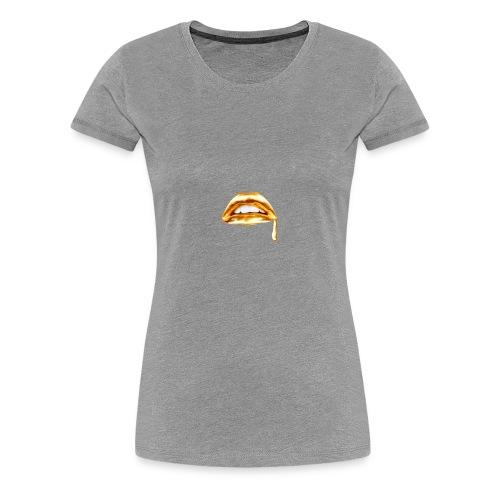 Gold Mouth Drip - Women's Premium T-Shirt