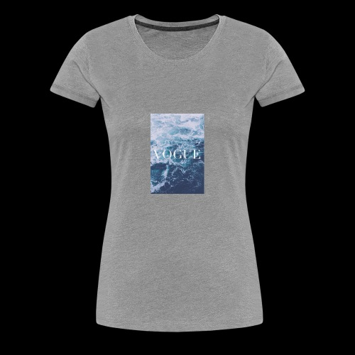 3707e04577f8e34009879a19c5b95cb1 laptop backgroun - Women's Premium T-Shirt