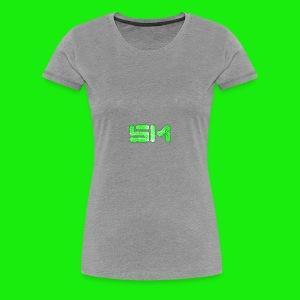 SloMotion logo - Women's Premium T-Shirt