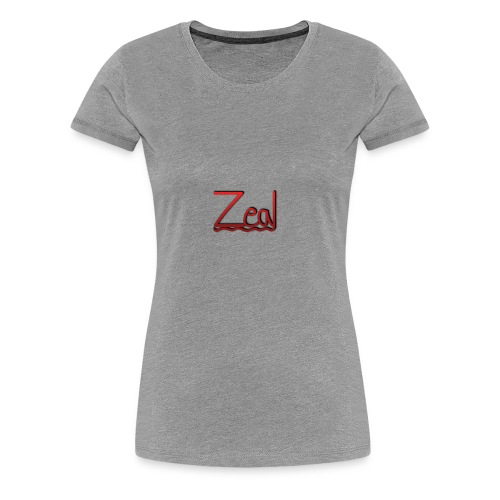 Zeal Red Logo - Women's Premium T-Shirt