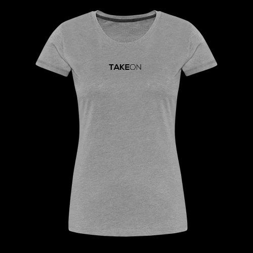 Takeon Logo Simple - Women's Premium T-Shirt