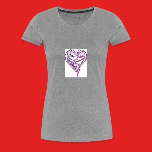 Jikjak heart - Women's Premium T-Shirt