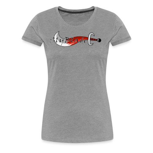 SlyBlade Banner - No Background - Women's Premium T-Shirt