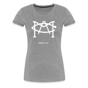 MACLOGOwhite - Women's Premium T-Shirt
